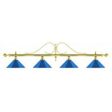 Лампа на четыре плафона «Classic Blue Light»