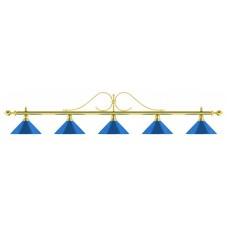 Лампа на пять плафонов «Classic Blue Light»