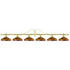 Лампа на шесть плафонов «Classic Colorful»