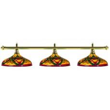 Лампа на три плафона «Colorful»
