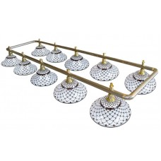 Лампа на двенадцать плафонов «Memory»