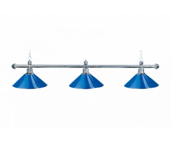 Лампа на три плафона «Blue Light»