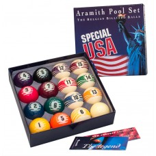 Комплект шаров 57.2 мм «Aramith Spesial USA»