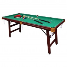Бильярдный стол 6 футов Снукер с комплектом аксессуаров