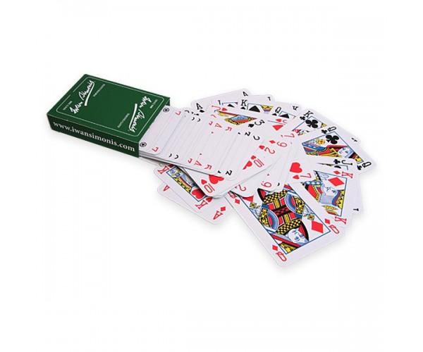 Карты игральные покерные Iwan Simonis