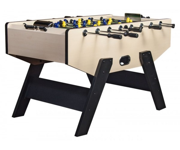 Игровой стол-футбол «Valencia» (140х74х86, светлый)