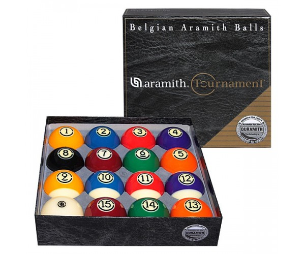 Бильярдные шары Американский пул Aramith Tournament Ø57,2мм