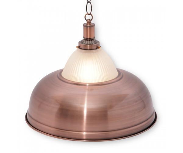 Светильник для бильярда Crown Red Bronze 1 (один) плафон