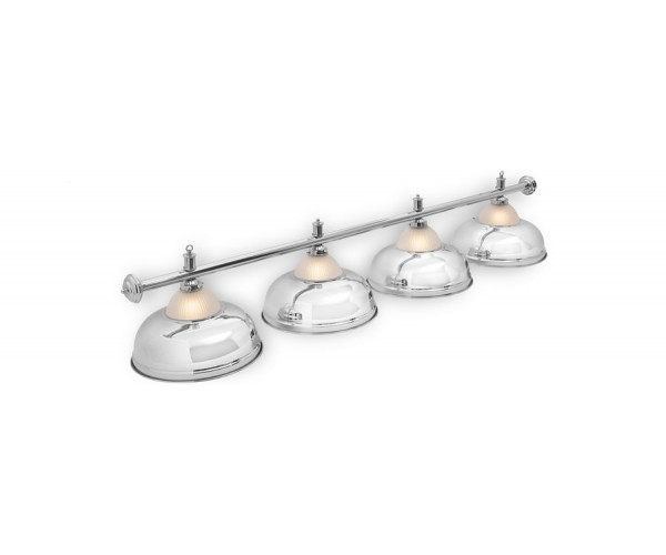 Светильник для бильярда Crown Silver 4 (четыре)  плафона