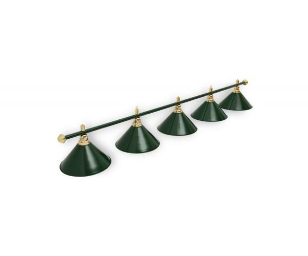Светильник для бильярда Allgreen 5 (пять) плафонов