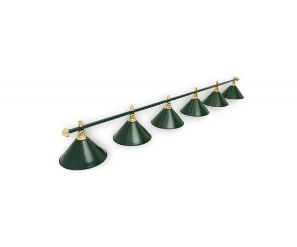 Светильник для бильярда Allgreen 6 (шесть) пплафонов