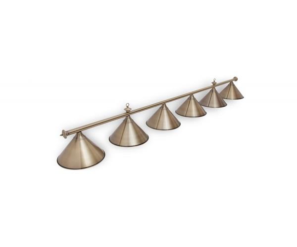 Светильник для бильярда Marseille Bronze 6 (шесть) плафонов