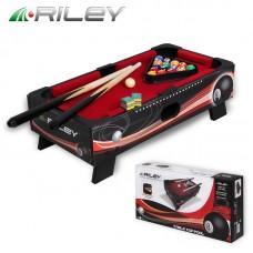 Игровой стол-трансформер Рилли (Riley) 1,5фута Пул + комплект аксессуаров
