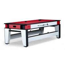 """Игровой стол - трансформер (пул + аэрохоккей) """"Atomic 2-in-1"""" 7 футов"""