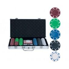 Набор для покера на 300 фишек без номинала