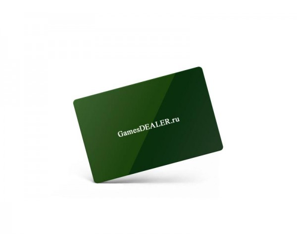 Подрезная карта Gamesdealer Cut Card