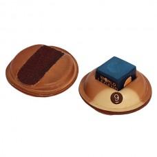 Инструмент для обработки наклеек-держатель для мела SX-3 кожаный