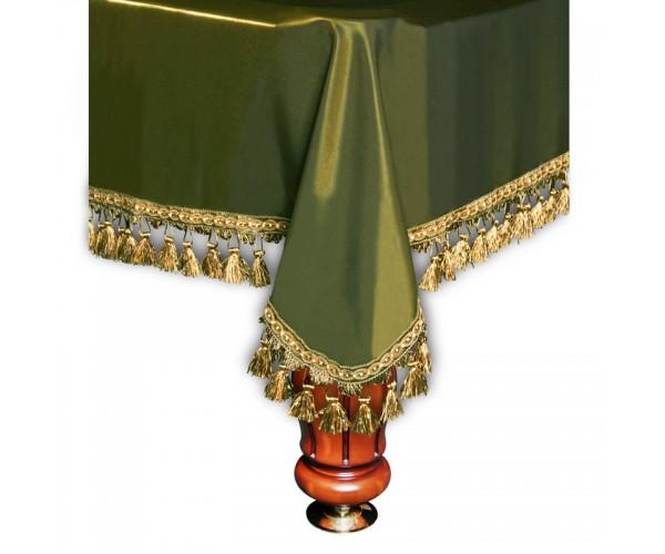 Покрывало Вена 10 футов шелк олива