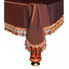 Покрывало Вена 10 футов шелк коричневое