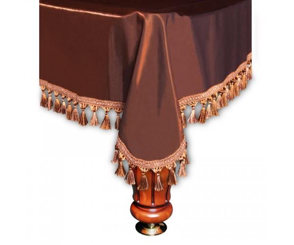 Покрывало Вена 12 футов шелк коричневое