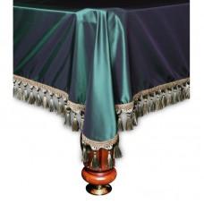 Покрывало Вена 8 футов шелк зеленое
