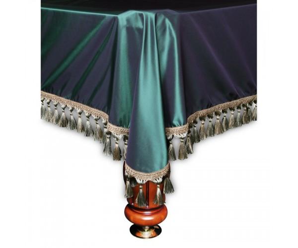 Покрывало Вена 7 футов шелк зеленое