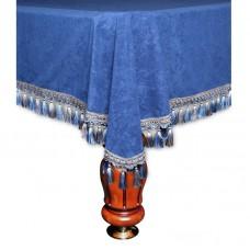 Покрывало Вена 9 футов велюр синее