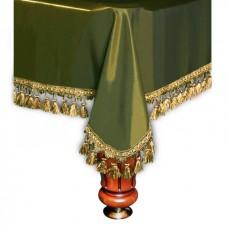 Покрывало Вена 7 футов шелк олива