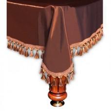 Покрывало Вена 9 футов шелк коричневое