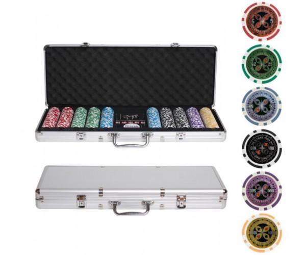 Набор для покера Ultimate на 500 фишек